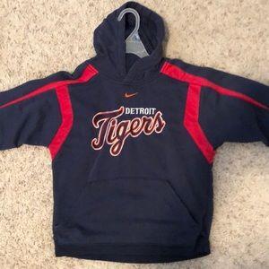 Boys Nike Detroit Tigers hoodie. Size S